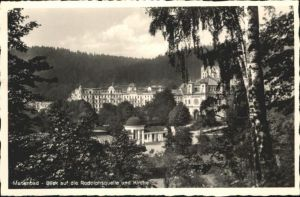 Marienbad Tschechien Boehmen Rudolphsquelle Kirche  / Marianske Lazne /