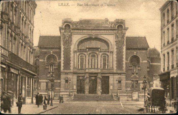 Lille Nord Lille Rue Inkermann Theatre x / Lille /Arrond. de Lille