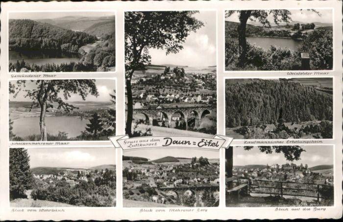 Daun Eifel Daun Gemuendener Maar Weinfelder Maar x / Daun /Vulkaneifel LKR
