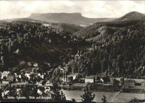 Bad Schandau Bad Schandau [Stempelabschlag] Krippen x / Bad Schandau /Saechsische Schweiz-Osterzgebirge LKR