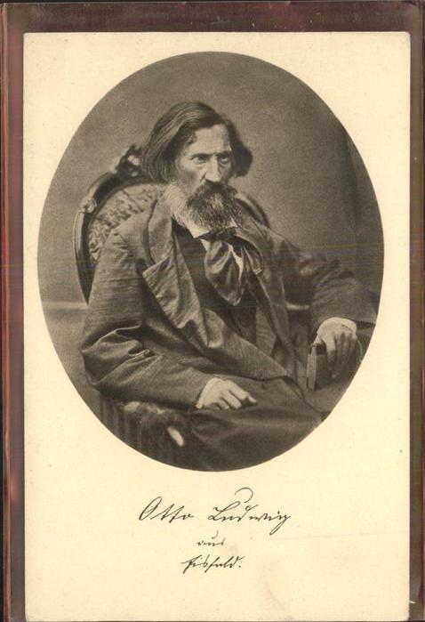 Eisfeld Portrait Otto Ludwig Kat. Eisfeld