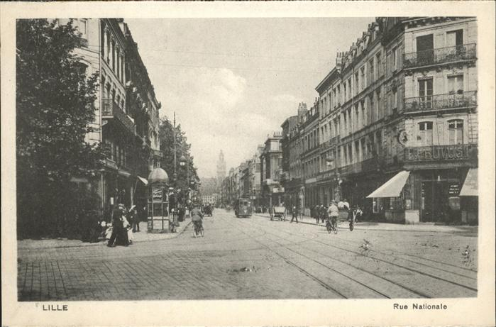 Lille Rue Nationale Kat. Lille