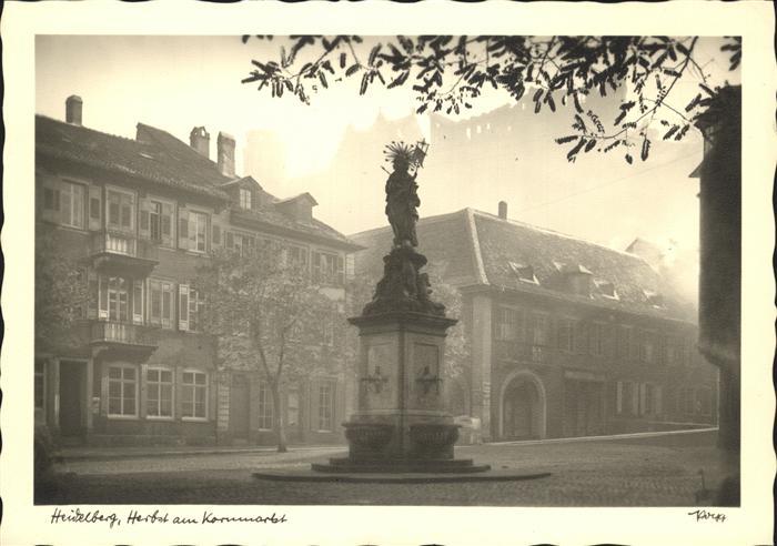Heidelberg Kornmarkt Kat. Heidelberg