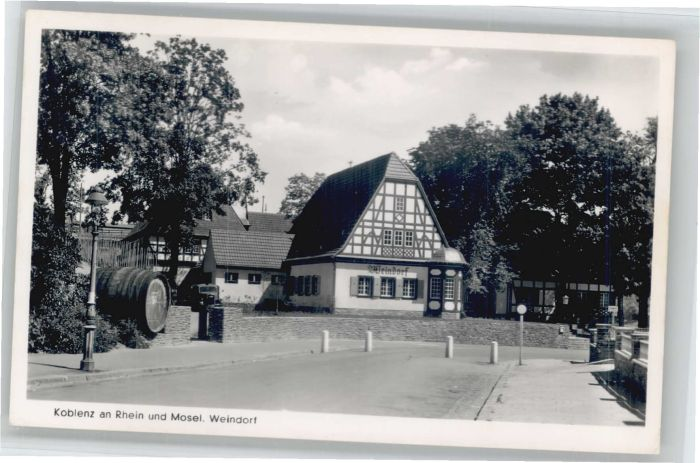 Koblenz Weindorf *