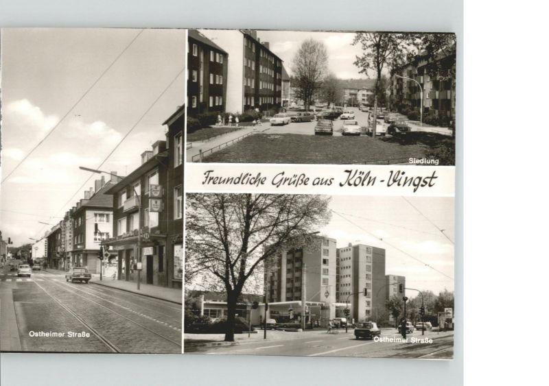 Koeln Rhein Vingst  Ostheimerstrasse  / Koeln /Koeln Stadtkreis