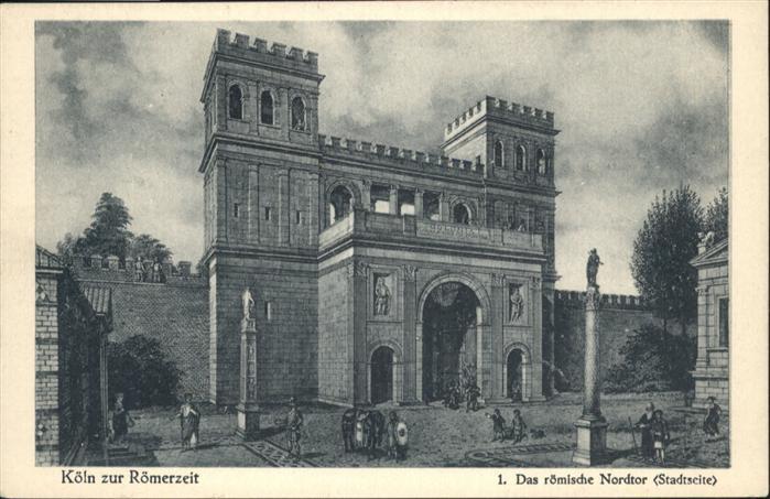 Köln Zur Römerzeit