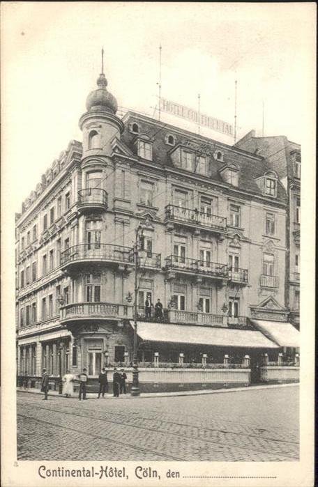 Koeln Continental Hotel
