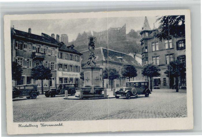 Heidelberg Kornmarkt Schloss *