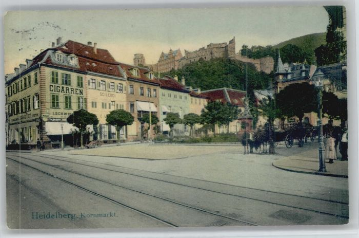 Heidelberg Kornmarkt x