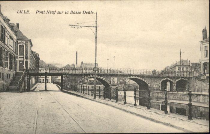 Lille Pont Neuf Basse Deule *