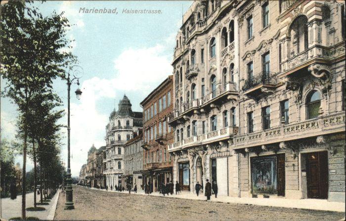 Marienbad Kaiserstrasse *
