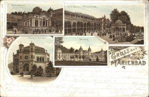 Marienbad Kirche Neubad Kreuzbrunn x