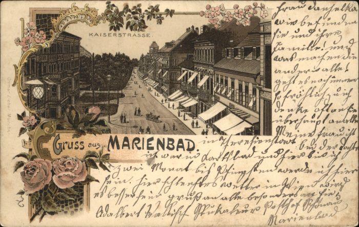 Marienbad Kaiserstrasse x