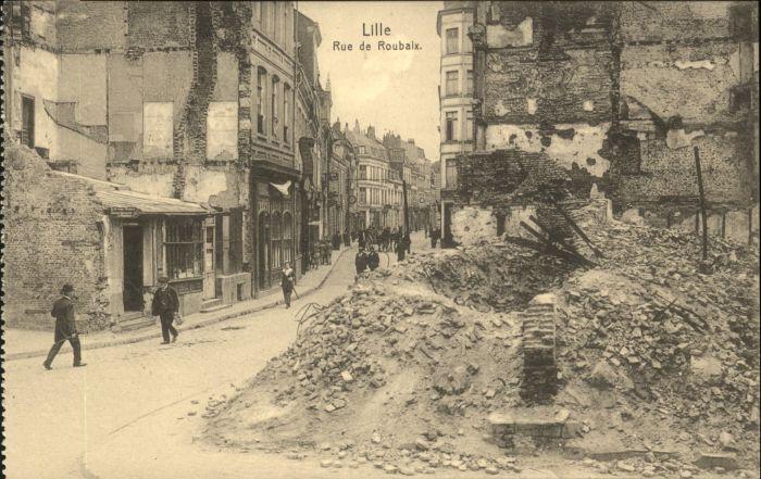 Lille Rue Roubaix *