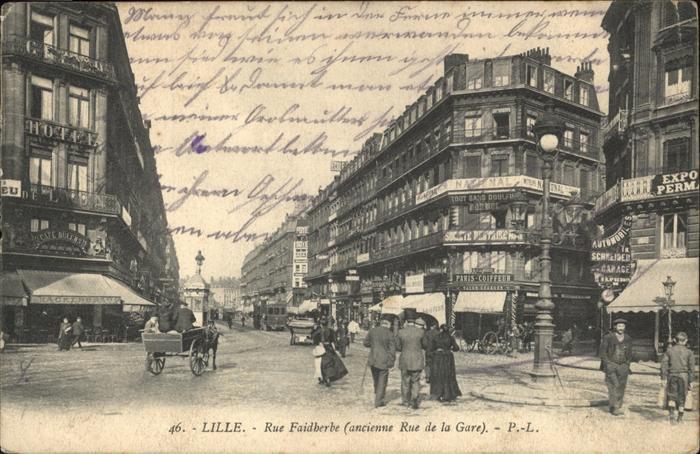 Lille Rue Faidherbe Kat. Lille