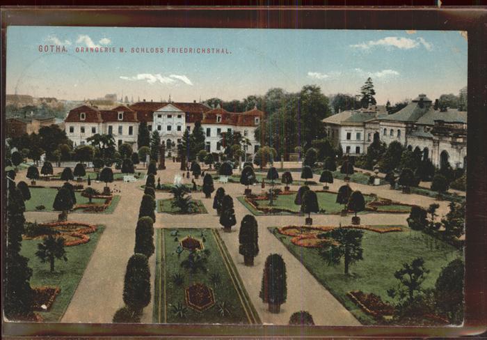 Gotha Thueringen Orangerie SChloss Friedrichsthal / Gotha /Gotha LKR