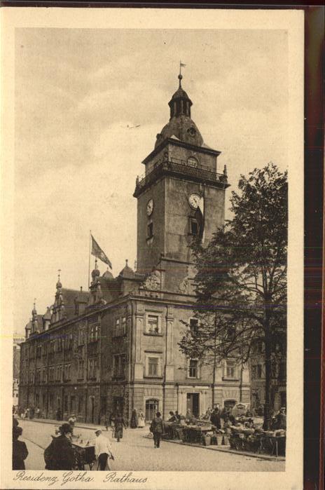 Gotha Thueringen Rathaus / Gotha /Gotha LKR