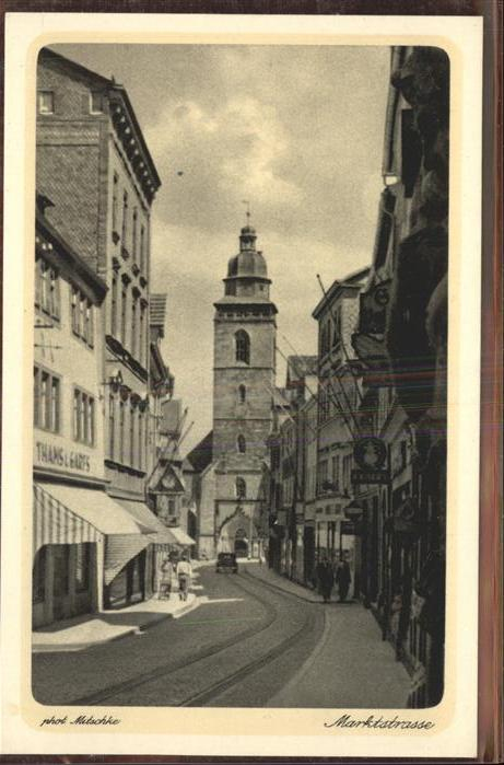 Gotha Thueringen Marktstrasse / Gotha /Gotha LKR