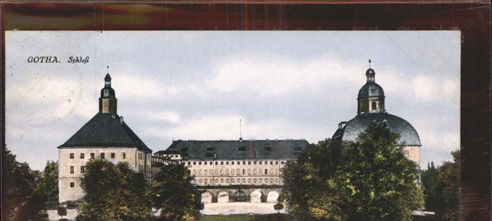 Gotha Thueringen Schloss / Gotha /Gotha LKR