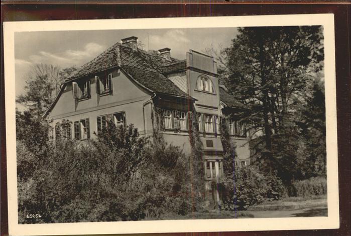Gotha Thueringen Siebleben Gustav-Freytag-Haus / Gotha /Gotha LKR