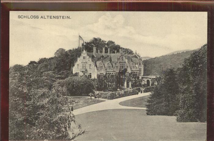 Altenstein Bad Liebenstein Schloss Kat. Bad Liebenstein