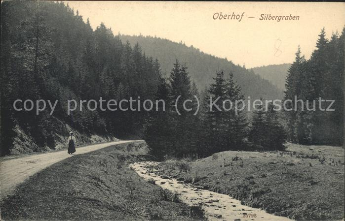 Oberhof Thueringen Silbergraben Kat. Oberhof Thueringen