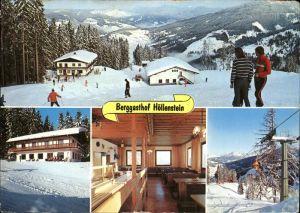 Wagrain Salzburg Berggasthof Hoellenstein Ski Kat. Wagrain