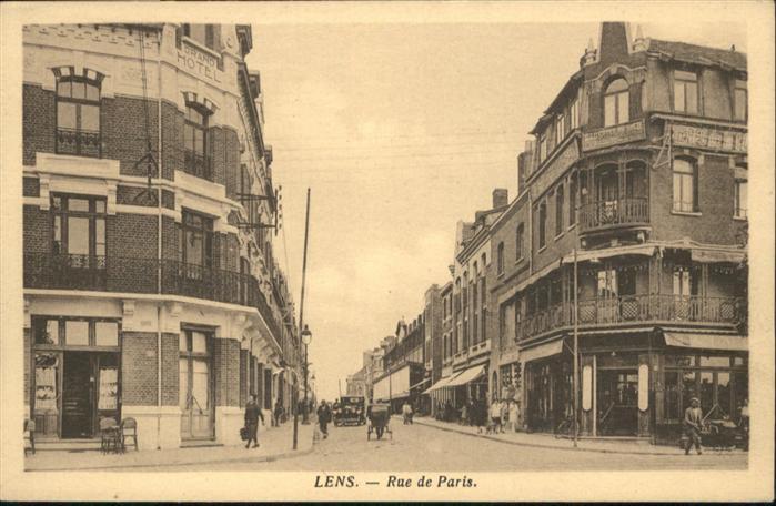 Lens Rue de Paris *