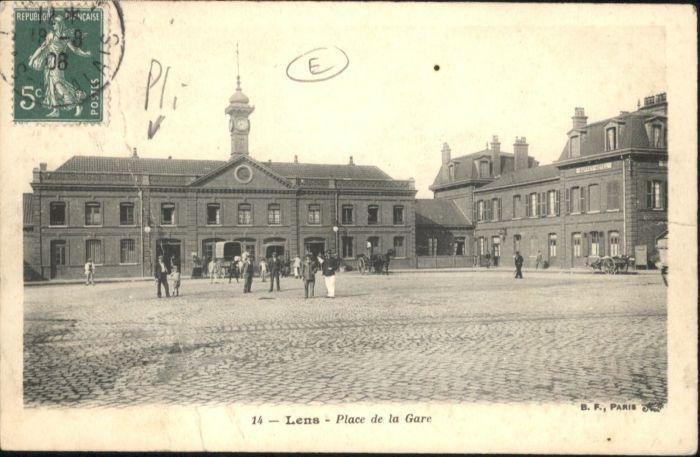 Lens Place Gare Bahnhof x