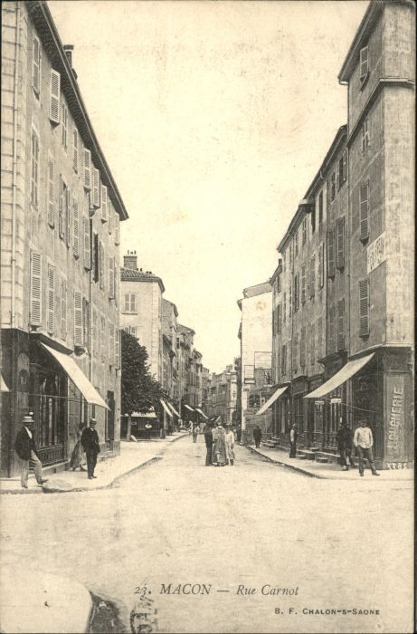 Macon Rue Carnot x