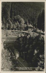 Oberhof Thueringen Brandleite Tunnel Kat. Oberhof Thueringen