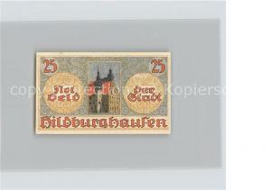 Hildburghausen 25 Pfennig Gutschein Rathaus Wappen Kat. Hildburghausen
