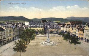 Saalfeld Saale Markt Kat. Saalfeld