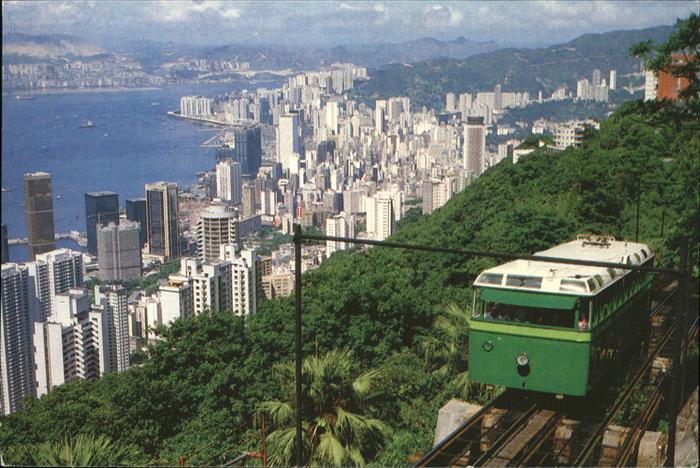 Hong Kong Hong Kong Peak Tramway Skyline Kat. Hong Kong