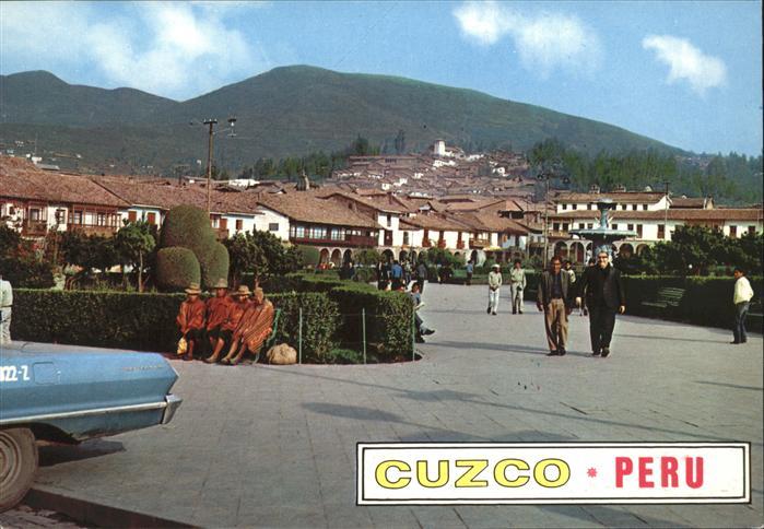 Cuzco Plaza de Armas Kat. Cuzco