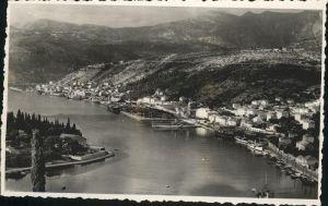 Dubrovnik Ragusa Panorama Hafen Kat. Dubrovnik