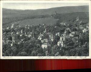 Wiesbaden Blick auf den Neroberg u.Russische Kapelle Kat. Wiesbaden
