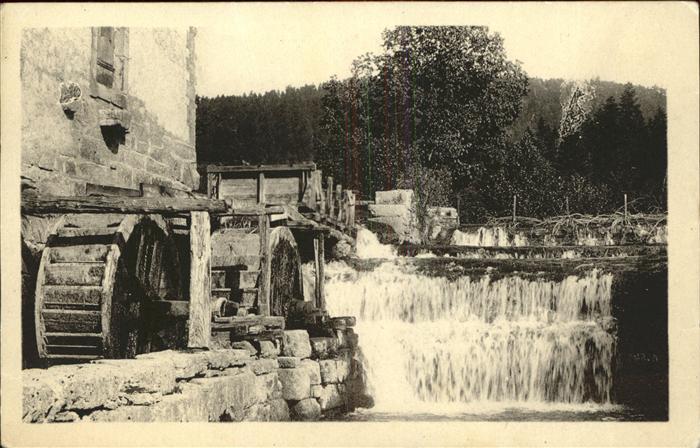 Herisson Allier Le vieux moulin Kat. Herisson