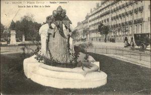 Dijon Cote d Or Place Darcy Fontaine Jeunesses Statue du Rude Hotel de la Cloche Kat. Dijon