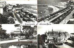 Arcachon Gironde Promenade Plage Casino Mauresque Kat. Arcachon