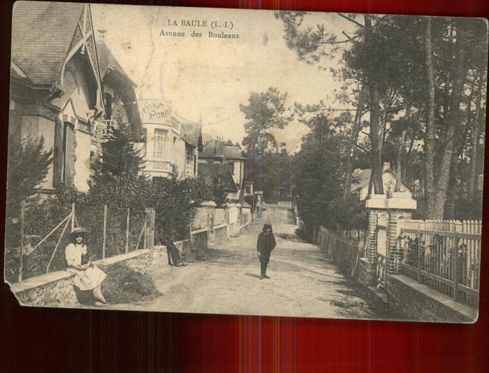 La Baule Escoublac Avenue des Bouleaux Kat. La Baule Escoublac