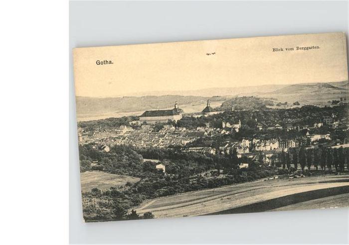 Gotha Thueringen Berggarten / Gotha /Gotha LKR