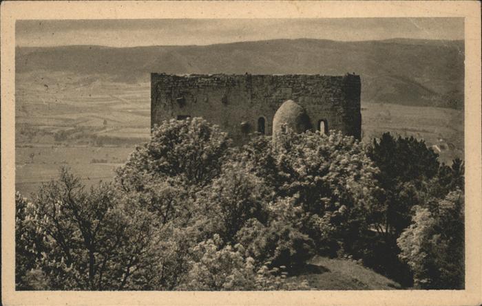 Lobeda Ruine der Lobedaburg Kat. Jena
