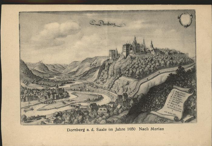 Dornburg Saale  Kat. Dornburg Saale