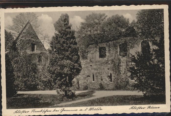 41460194 Grimma Klosterruine Nimbschen Grimma Grimma