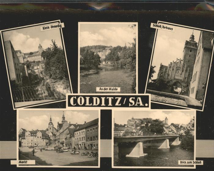 Colditz Markt u.Klein Venedig Kat. Colditz