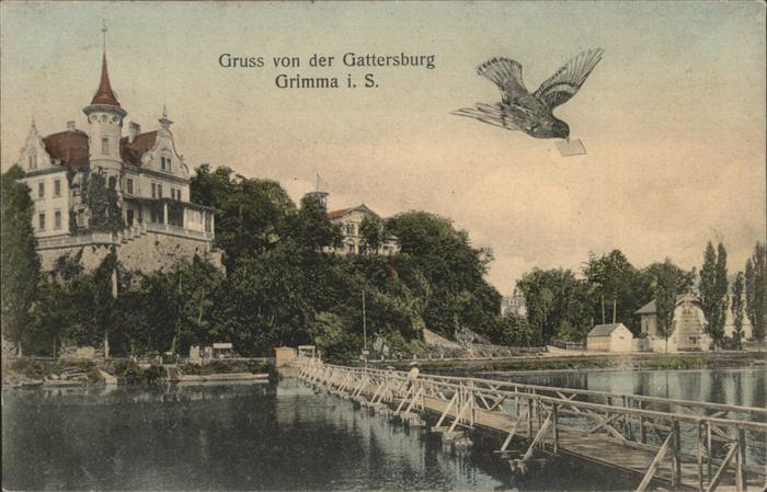 Grimma Gattersburg Kat. Grimma