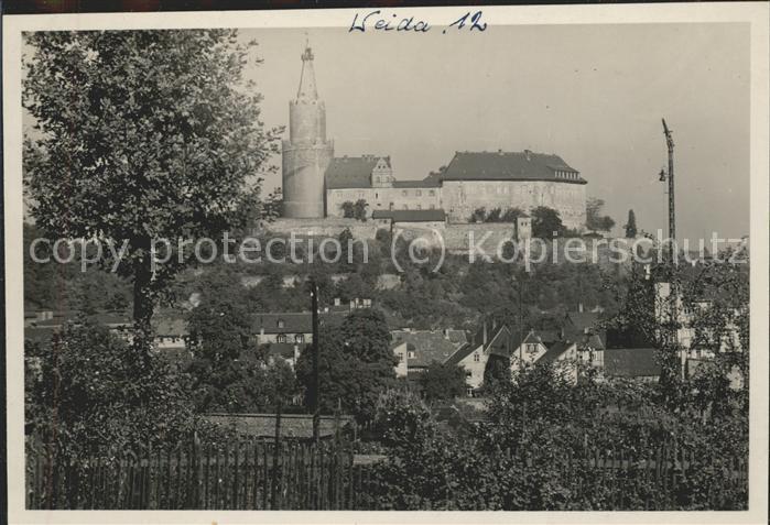 Weida Thueringen Schloss Osterburg Kat. Weida Thueringen