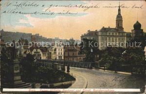 Greiz Thueringen Kaiser Wilhelm Denkmal Residenzschloss Kat. Greiz
