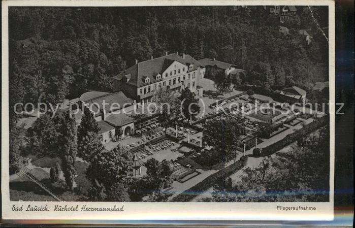 Bad Lausick Herrmannsbad (Sauberer Werbestempel) Kat. Bad Lausick